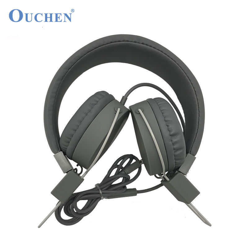 Cheapest Folding Wired Headphone Factory with Price Deluxe Full-Size Stereo Headphone