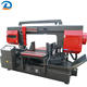 China Automatic Double Column Horizontal Bandsaw Iron Steel Metal Bandsaw Machine