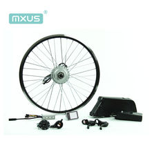 Cheap and high quality MXUS 250w e bike conversion kit with other electric bicycle parts