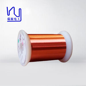 Solderability NEMA standard UEW 0.02mm enameled copper magnet wire price
