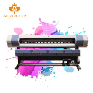 Nieuwe versie grootformaat eco solvent printer 1.6 m inkjet printer eco solvent eco solvent printer vinyl