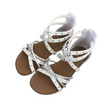 china Children's Shoes New Summer Flat Roman Sandals