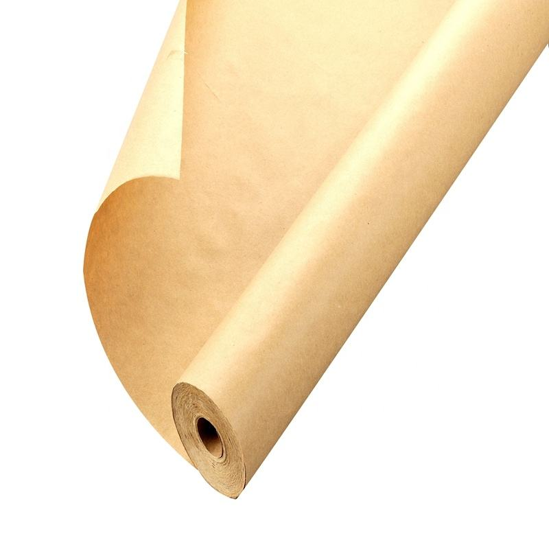 Made in China Brown Kraft Paper Jumbo Roll Ideal for Gift Wrapping Craft Table Runner 100% Recycled Material