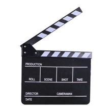 E-IMAGE ECB-01Acrylic Movie Clapboard for sale Studio Director Black Color