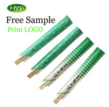 Hot Selling 2020 Discount Free Sample Custom Printed Disposable OEM & ECO Bamboo Chopsticks For Sushi