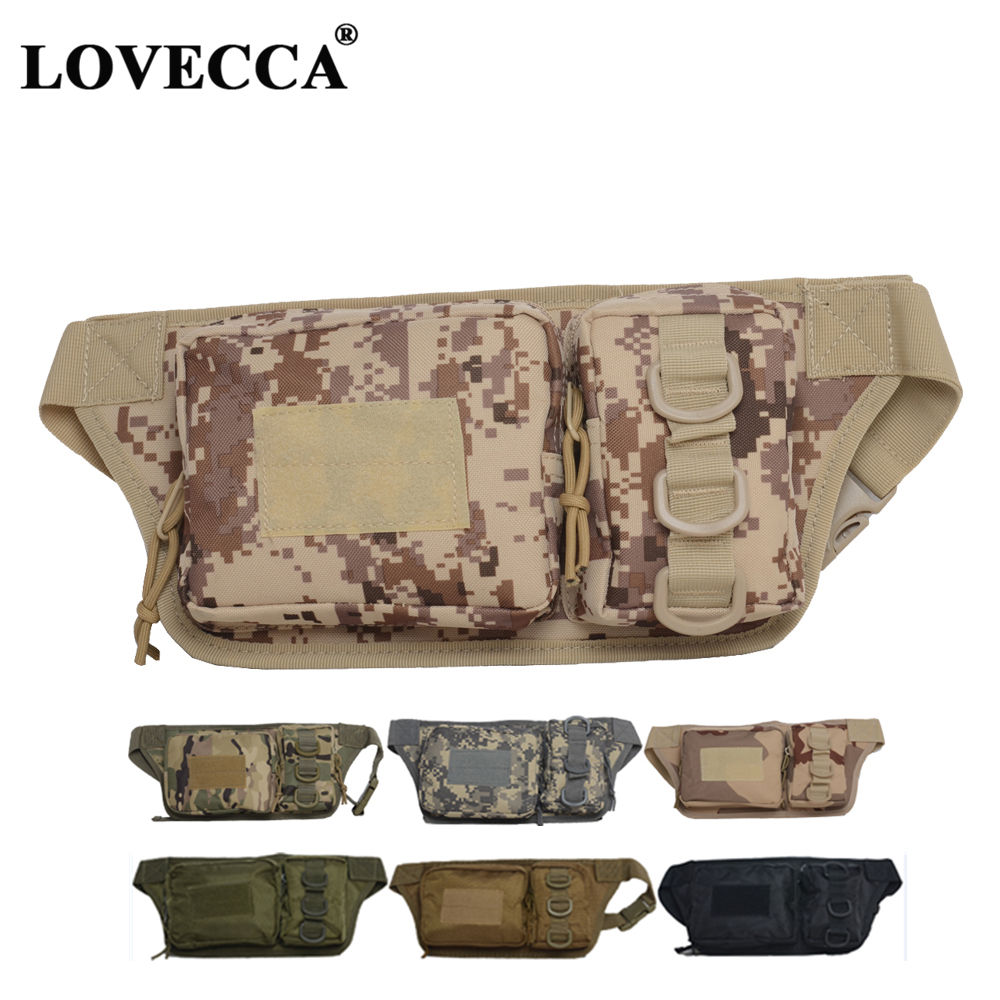 Tactical waist bag camouflage US military 3p tactical waist pack outdoor climbing cycling running sports pocket