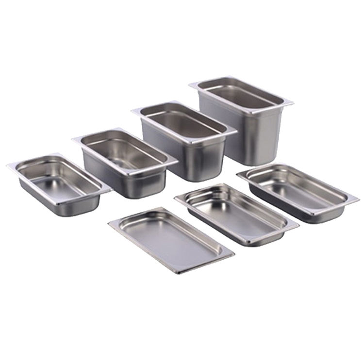 Manufacturer stainless steel 1/9 gn food pan buffet for kitchen