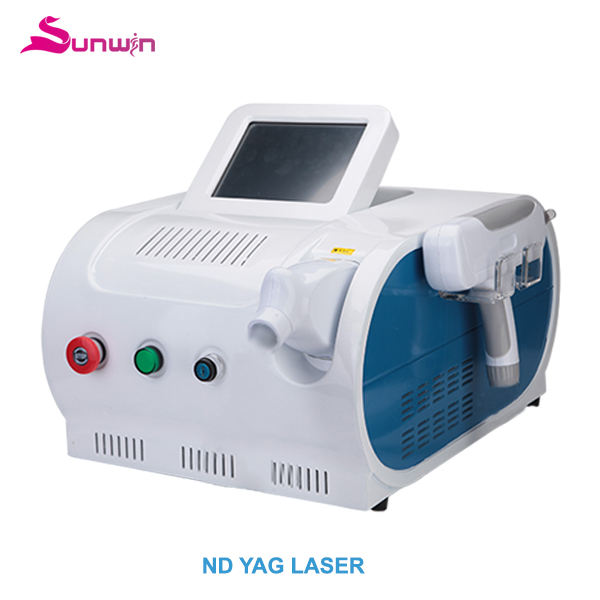 nd yag laser handpiece liver spots removal acne marks treatment tattoo removal