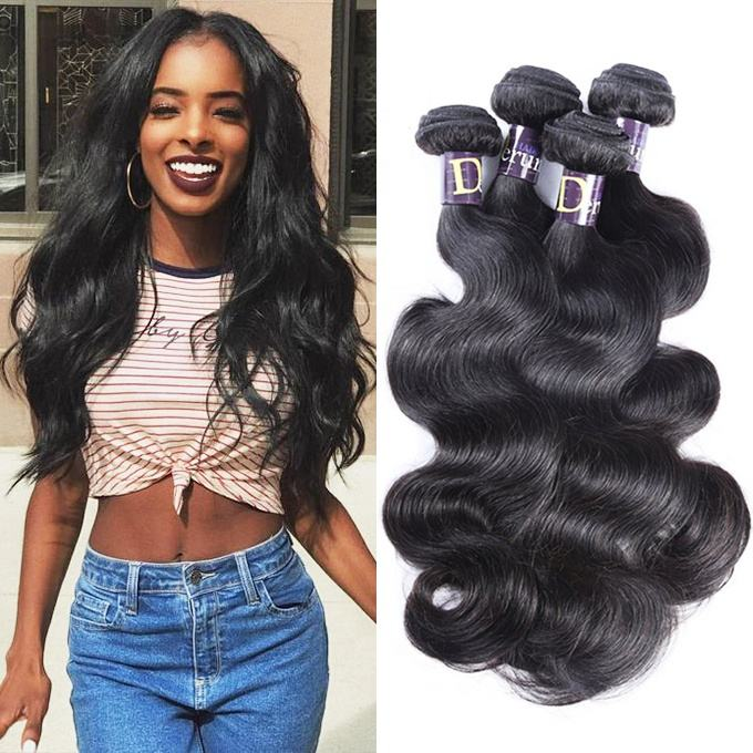 Derun Factory Price Wholesale 8A 9A 10A Grade Mink Cuticle Aligned Hair for Peruvian Brazilian Indian Hair