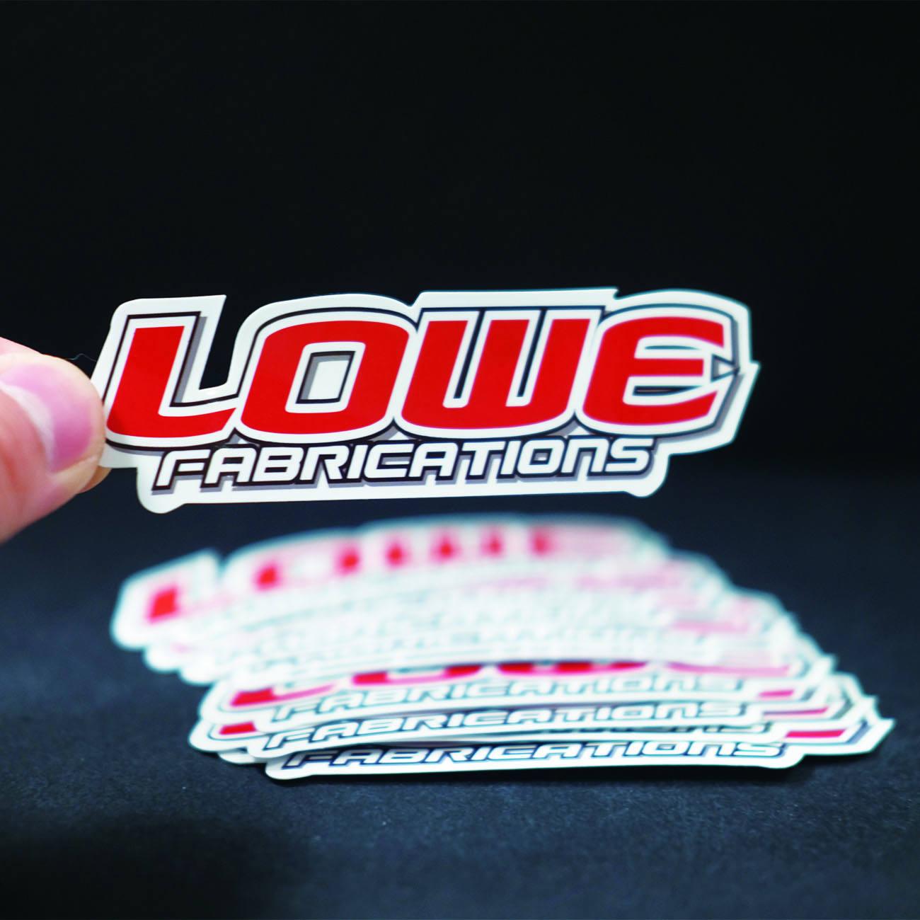 Custom Logo Printed Die Cut Vinyl Bumper Sticker