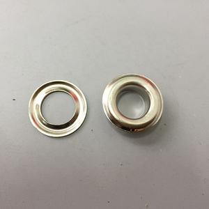 Un precio razonable durable10MM doble ojal metálico y gancho de ojal con lavadora