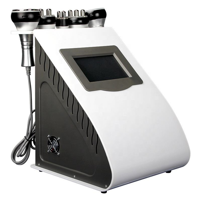 5in1 Ultrasonic Liposuction 40k ultrasonic cavitation machine Multipolar Bipolor RF Laser Slimming Skin Body Salon Machine