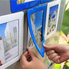 Magnetic Crystal Epoxy Photo Picture Frames, Frames Photo and Refrigerator Magnets, Pocket Frame