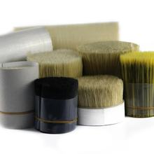 Reliable vendor PET  filament  natural bristle body brush for  paint brush
