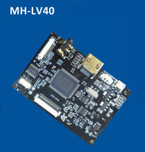 MH-LV40 HD LCD LVDS 40 pin panel driver board HDMI to LVDS controller with USB 5V power supply and  panel cable included