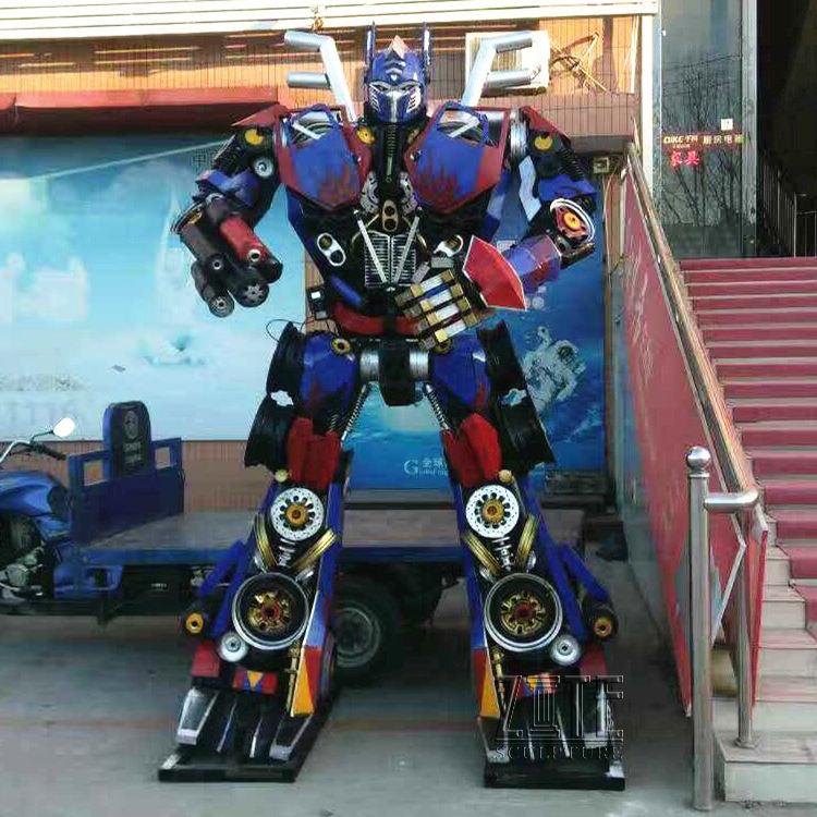 Американские наружные декоративные <span class=keywords><strong>трансформаторы</strong></span> Great <span class=keywords><strong>Optimus</strong></span> Prime статуя