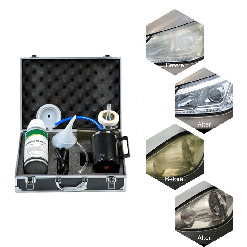 Vehicle maintenance tools Car/motorcycles headlight refurbishment and repair tools