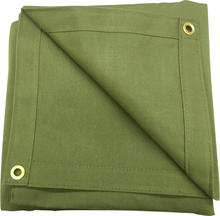 hemp waterproof camping fire resistant  polyester  cotton canvas tarp