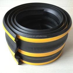 Reflective Wall Angle Rubber Corner protectors / protection of Road Safety Equipments