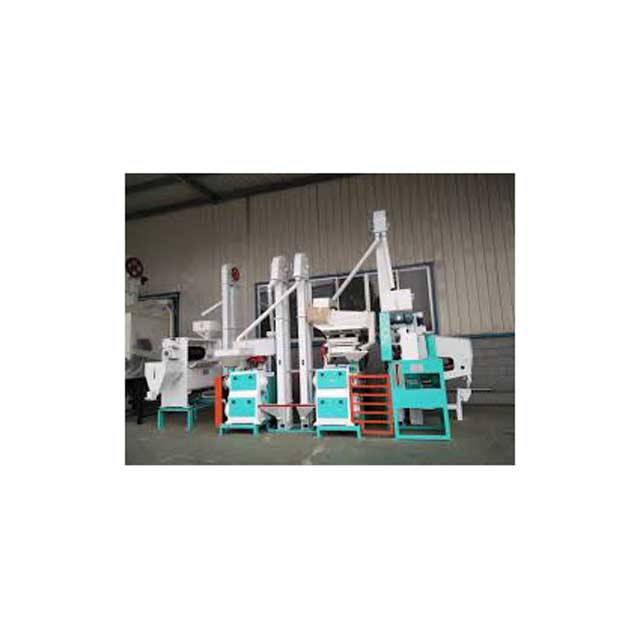 Rice mill machine rice processing line