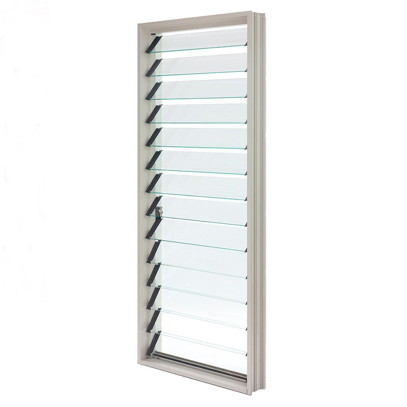 Australian standard as2088 folding glass windows / sun shade aluminium louvers
