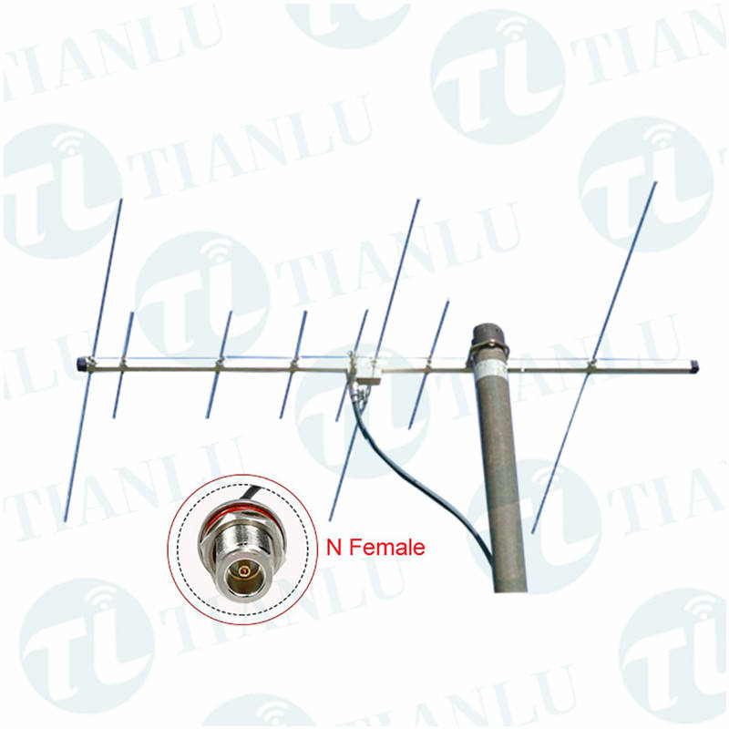 9 elemente 145/430 MHz dual band high gain yagi-antenne outdoor VHF/UHF strahl antenne