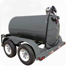 Portable diesel fuel tank with trailer and pump price