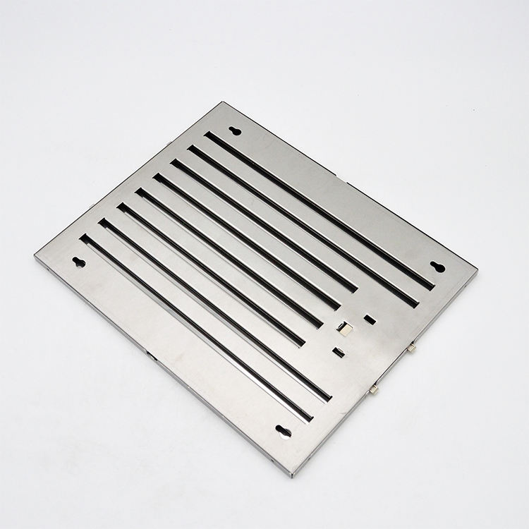 Kitchen Aluminium Baffle Grease Filter Range Hood Replacement For Smoke