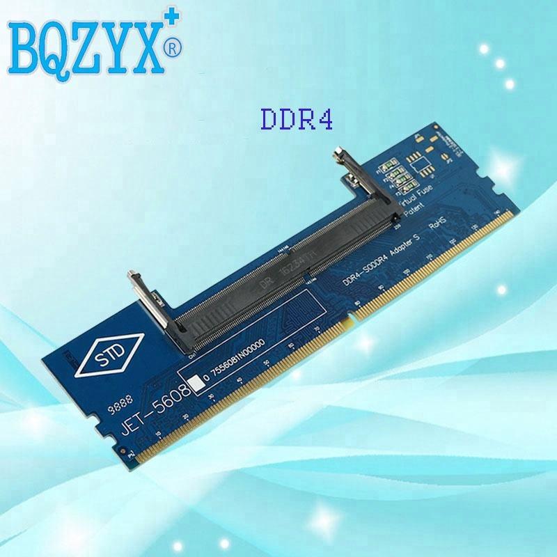 محمول DDR4 RAM إلى سطح المكتب محول بطاقة الذاكرة اختبار SO DIMM إلى ddr4 تحويل