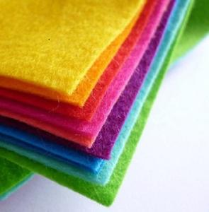 High Quality Top Sale Colorful Non-woven Felt Fabric Polyester Roofing Felt