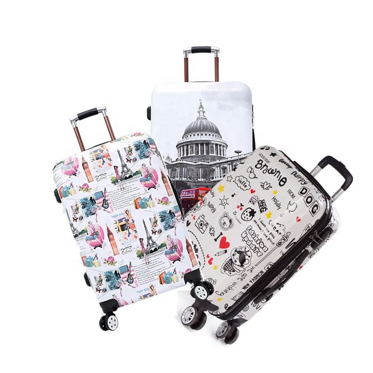 Jvr Print Trolley Suit Case Travel Luggage-sets 2 Custom Made In China Valise De Voyage