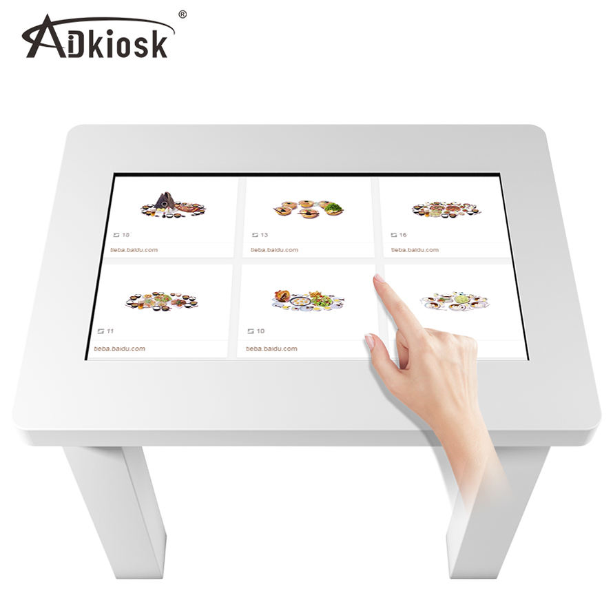 smart touch sensor table with multi touch screen price for business