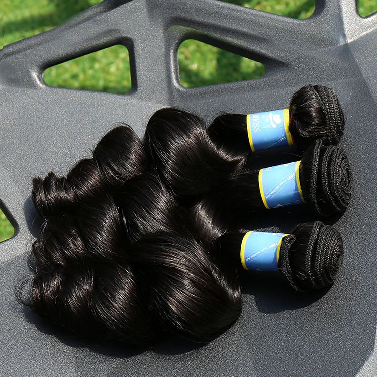 wholesale double drawn cuticle aligned hair, hair bangkok virgin remy double drawn hair bundles ,hair for wig making