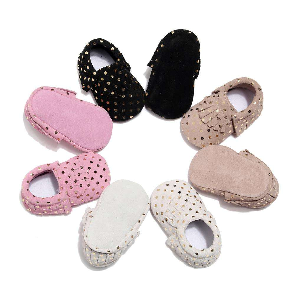 2019 Factory Wholesale Absolutely Cheap Genuine Leather Cute Soft Toddler shoes Girls Baby Shoes
