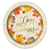 VOBAGA private label thanksgiving paper plates