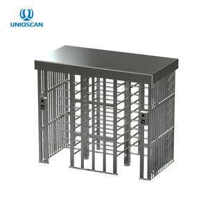 Electronic Security Gate ความสูงเต็ม turnstile RFID card reader