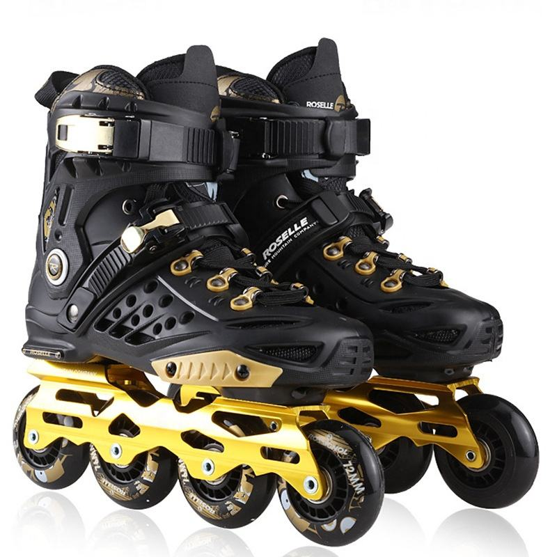 High Quality Men Four Wheel Skate Shoes inline Made in china For Skating Sports