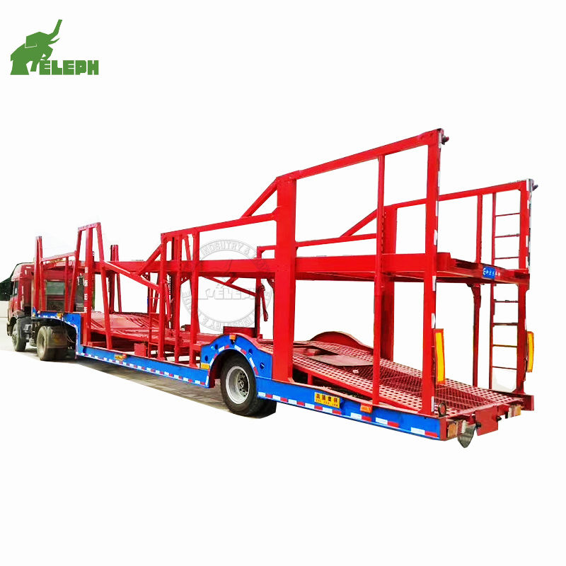3 axle auto low price car carrier trailer auction south africa