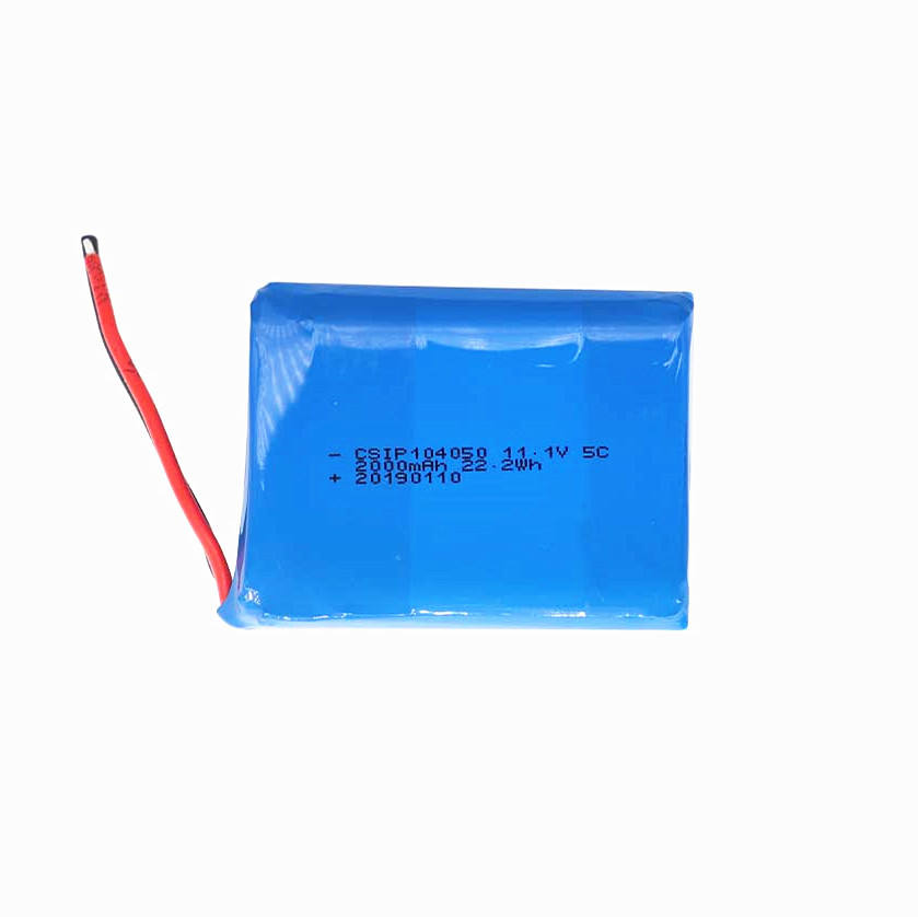 Lithium-polymer-batterie 11,1 V <span class=keywords><strong>5C</strong></span> 2000 mAh 103450 lipo batterie