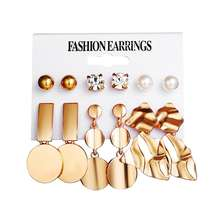 fashion gold plated jewelry Earrings for women daily wear Wholesale N94246
