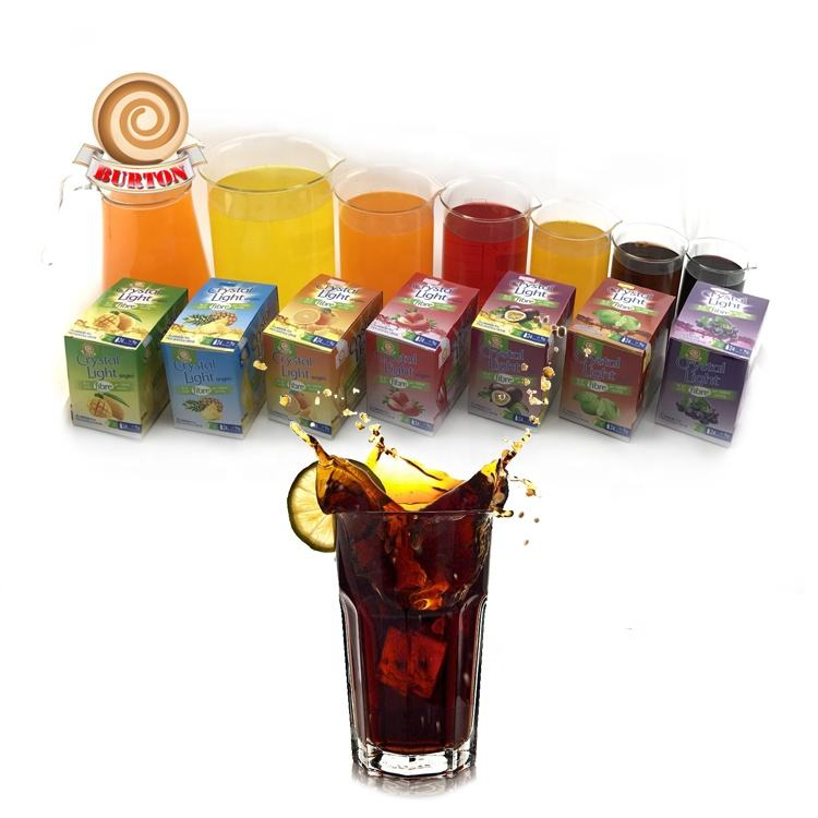 9grams passionfruit cola strawberry orange mango grape pineapple instant concentrate powder drink