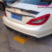 Carbon Fiber Modified GTS Rear Spoiler Tail Trunk Lip Wing For Benz W218 CLS300 CLS350 CLS500 CLS550 CLS63 AMG 2012 - 2017