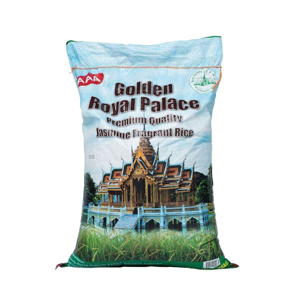 Golden Royal Palace Premium Quality Jasmine Fragrant White Vietnam Rice 25KG