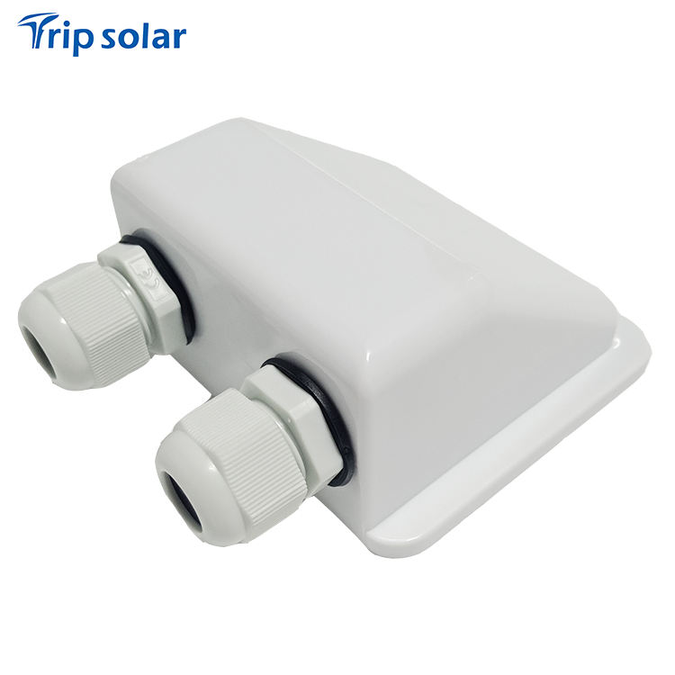 Waterproof Solar RV Double Cable Entry