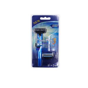New type one handle +2 razor head disposable shaving razor, mens travel razor