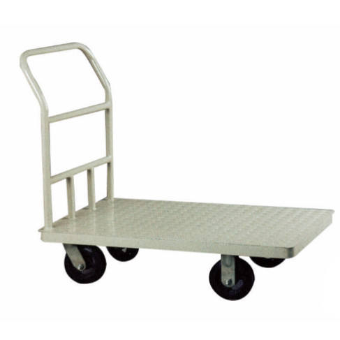 High quality hand metal platform lorry/tooling cart