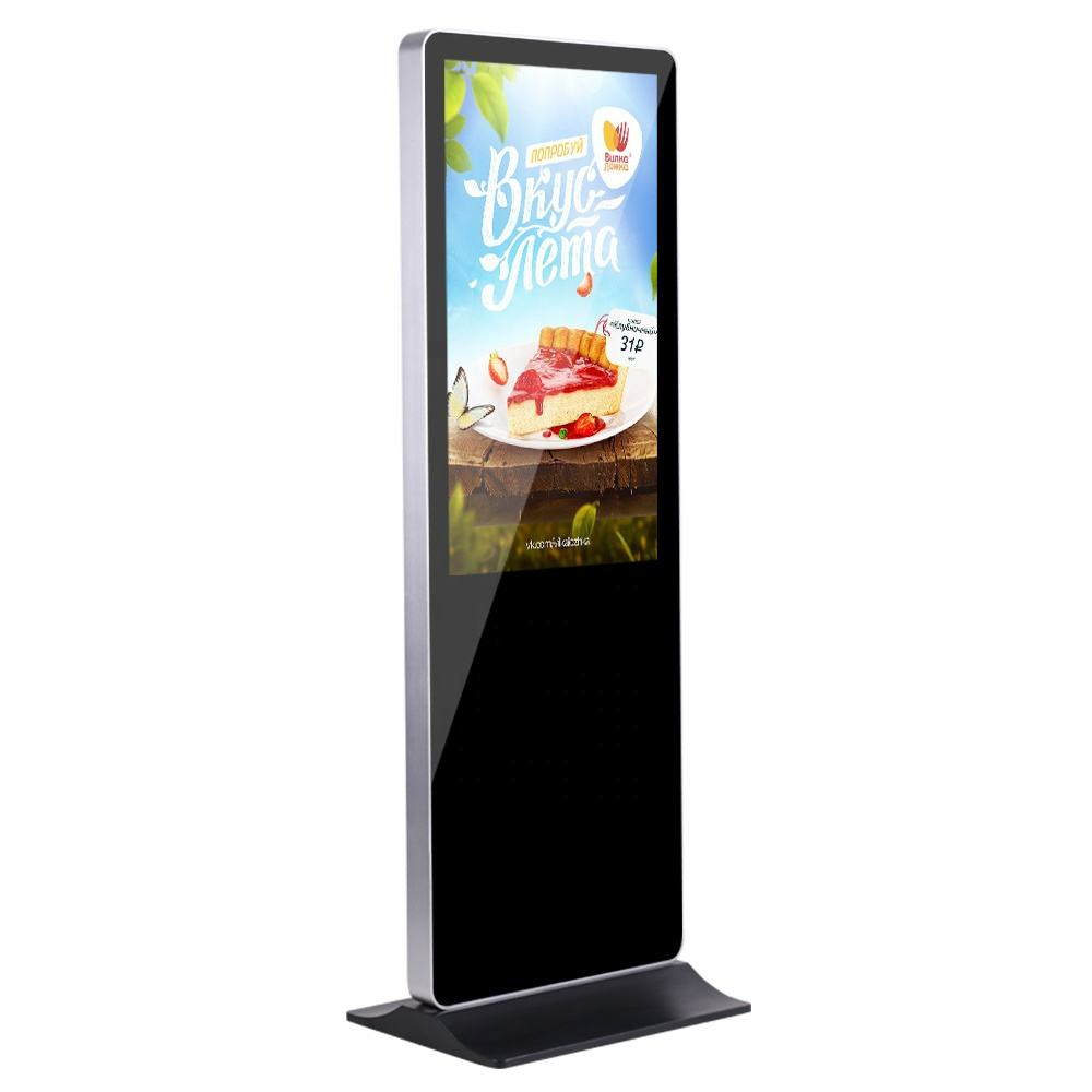 LCD Touch Screen Informatie Reclame Kiosk Totem Digital Signage Display