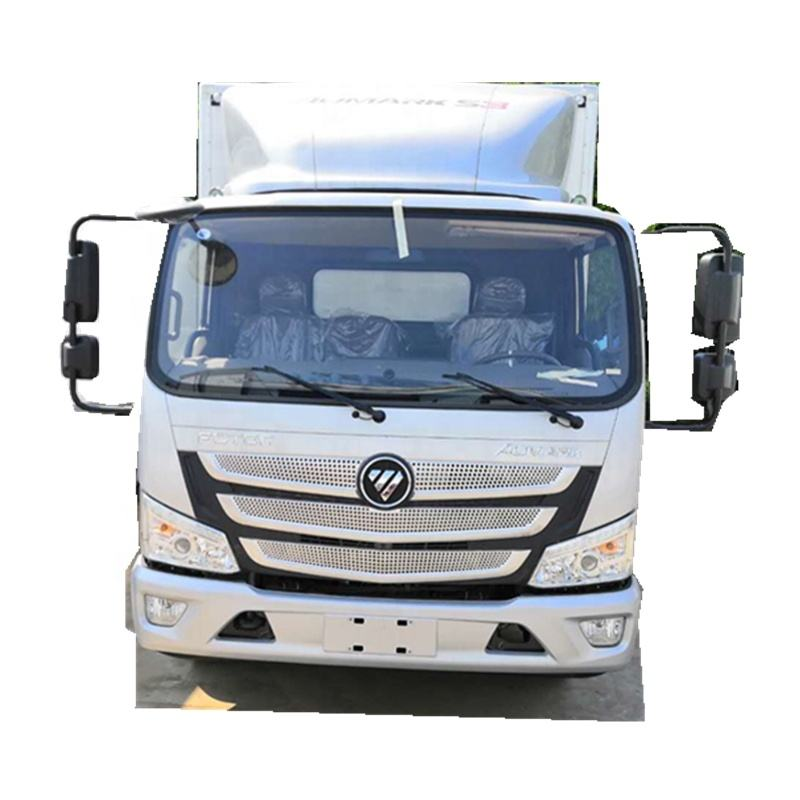CLW 5tons foton right hand drive cargo van/5 tons van cargo truck for sale