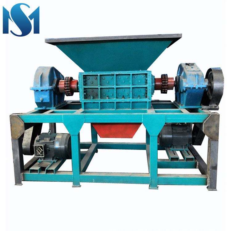 Exporting shredder machine plastic