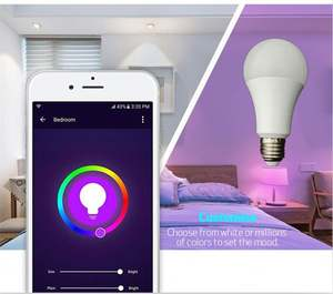 Best 잘 팔리는 Products 9 와트 10 와트 12 와트 Led Bulb RGB + W + WW Lifx Smart 전구